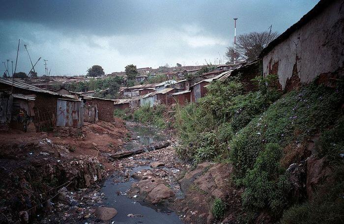 Трущобы Кибера, общий вид