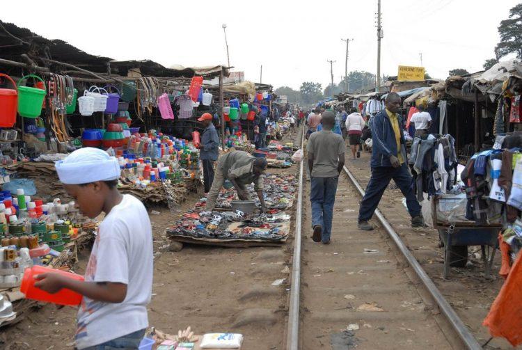 Кибера - трущобы Найроби