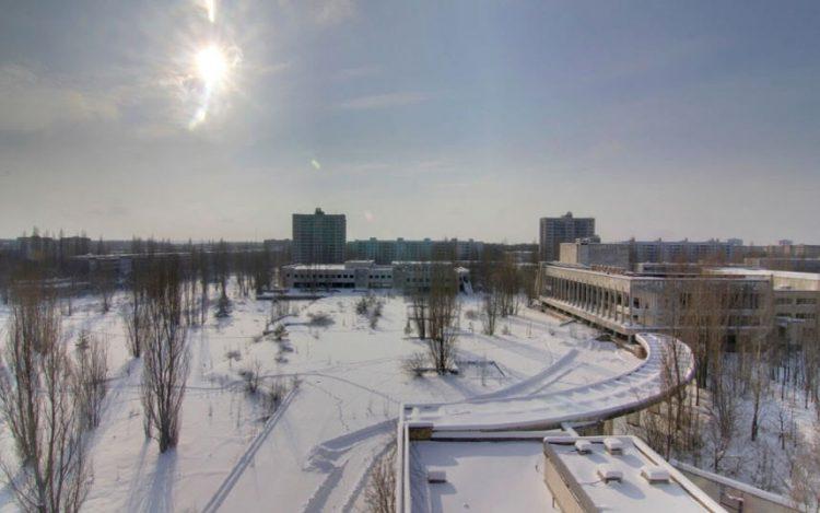 Центральная площадь Припяти, Украина