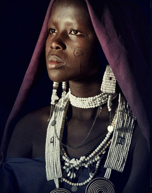 Девушка племени Масаи
