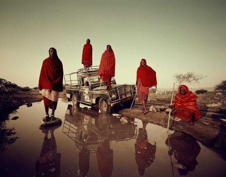 Современное племя Масаи