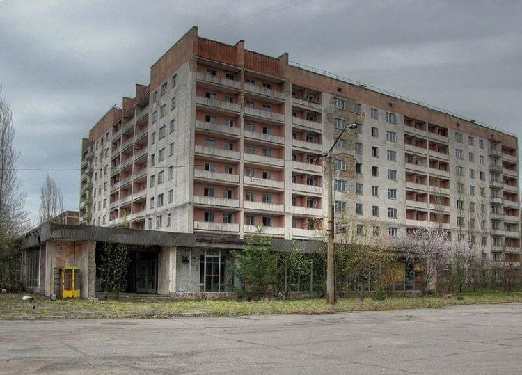 Покинутый город Припять, Украина