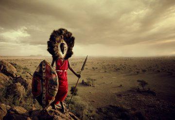 Представитель племени Масаи