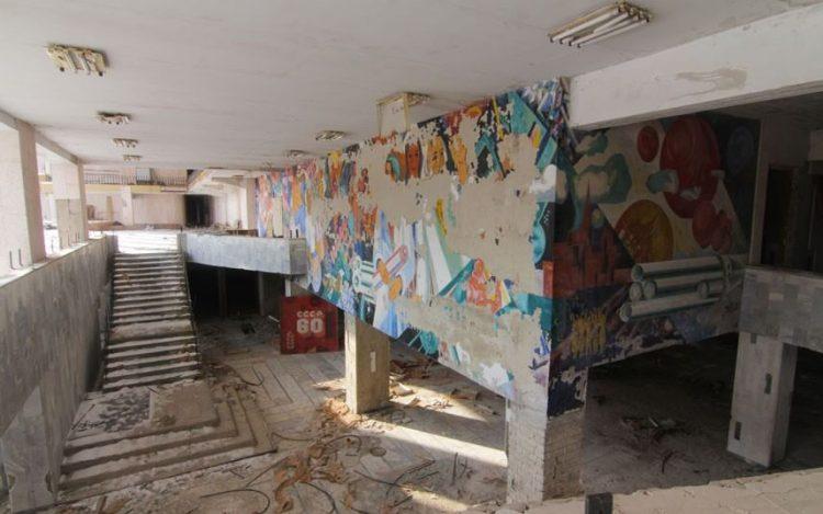 Советская роспись, Припять, Украина