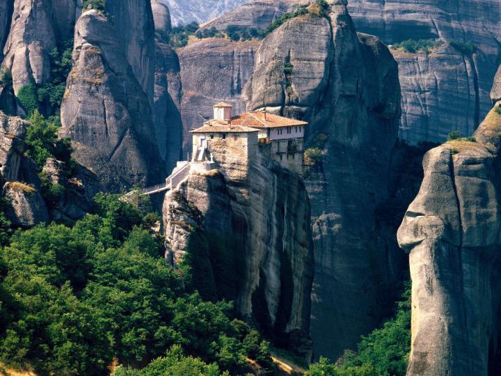 Комплекс монастырей Метеоры, Греция