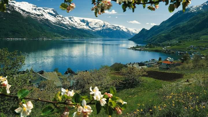 Залив Хардангер, Норвегия