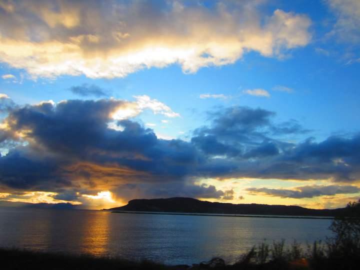 Закат на Тронхеймс-фьорде