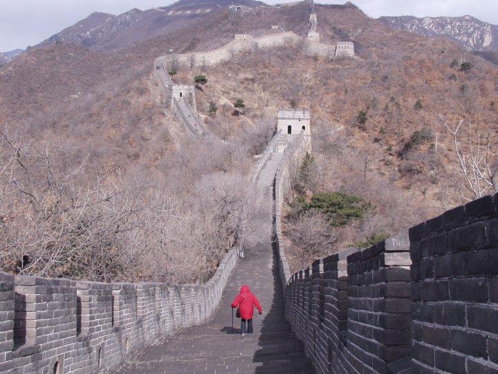 Фото внутри Китайской стены