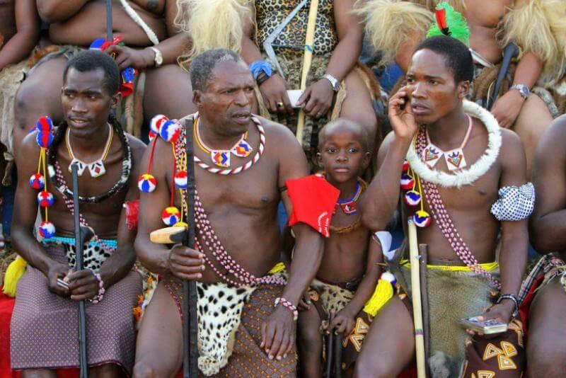 Члены племени Зулу