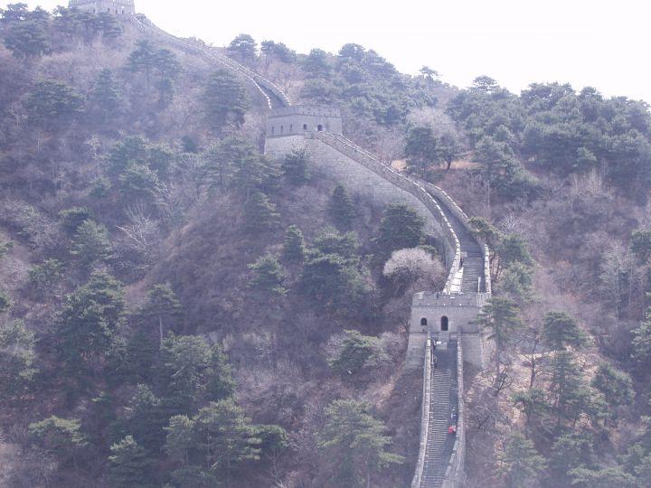 Китайская стена на склонах