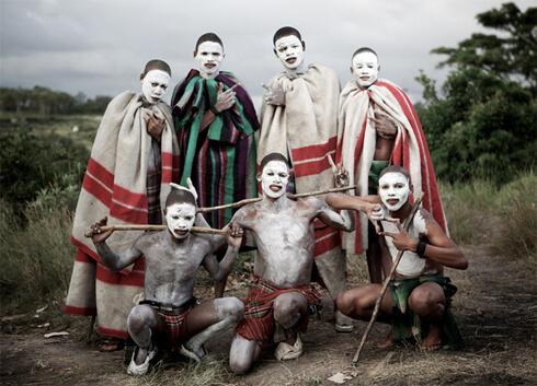 Племя Коса в Африке