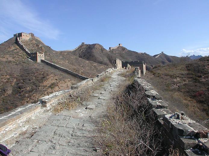 Руины Китайской стены