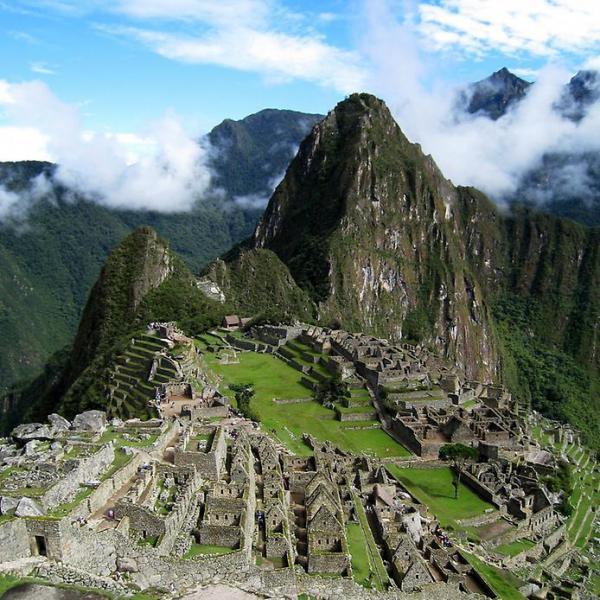 Древний город империи Инков в Перу