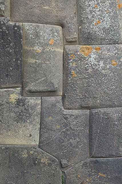 Кладка камней древнего города