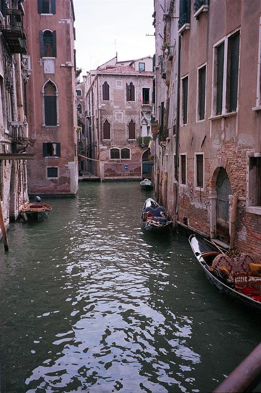 Прогулка по улице Венеции
