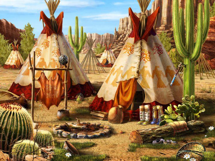 Вигвам - жилье индейцев Апачи