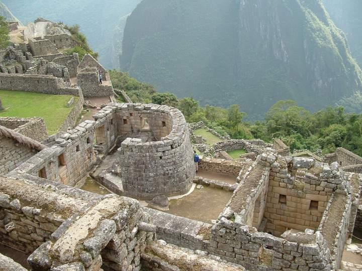 Стены города Мачу-Пикчу