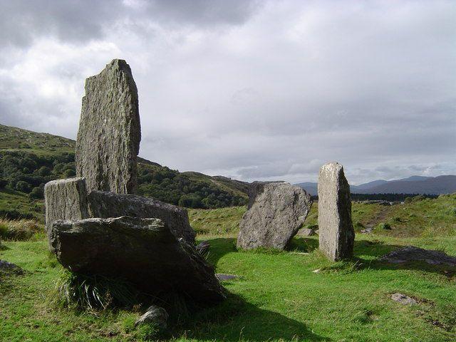 """Каменное кольцо """"Ураг"""", Ирландия"""