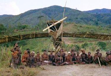 Основа культа карго - деревянные самолеты