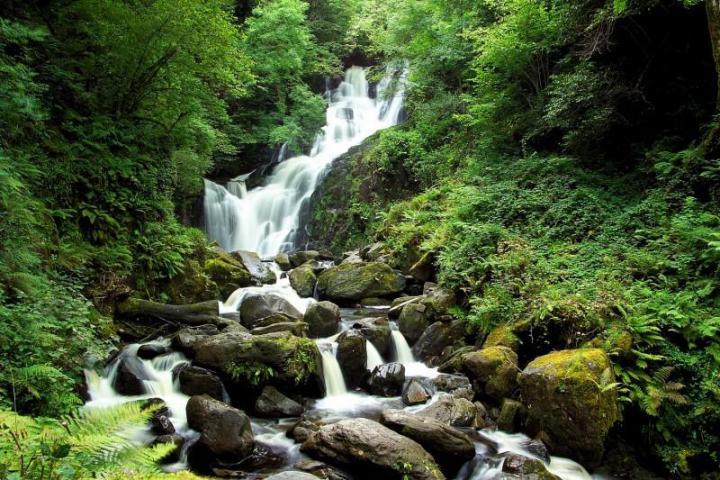 """Водопад """"Торк"""", Ирландия"""