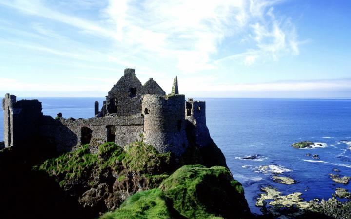 """Заброшенный замок на маршруте """"Кольцо Керри"""", Ирландия"""