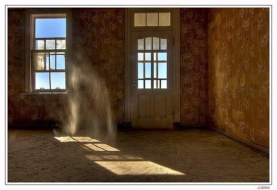Дом в Колманскопе - вид изнутри