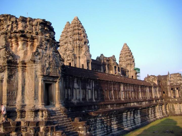 Кхмерсская архитектура Ангкор-Ват. Фото