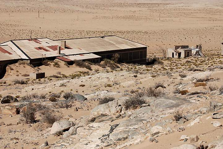 Колманскоп - пустыня Намиб