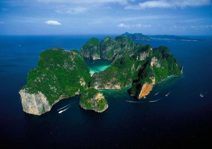 Острова Пхи-Пхи, Таиланд. Фото