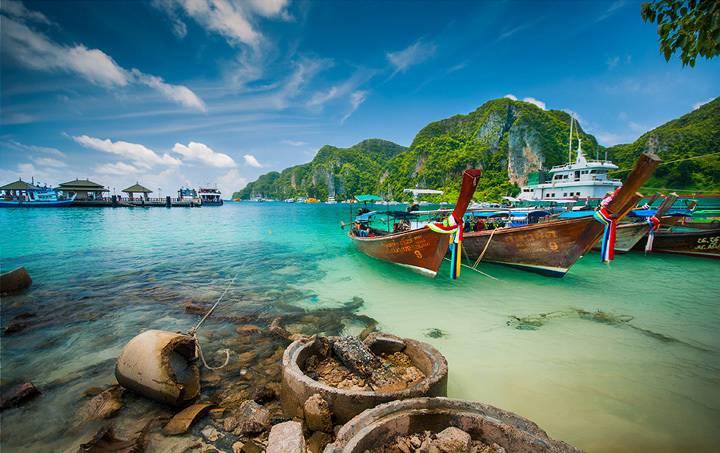Побережье острова Пхи-Пхи-Дон, Таиланд