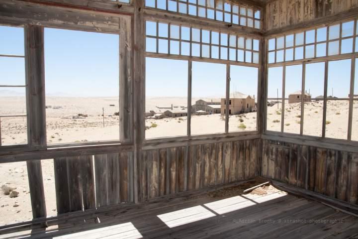 Заброшенный салон-бар в Колманскопе