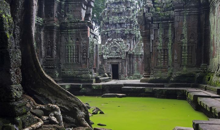 Заброшенный Ангкор-Ват. Фото