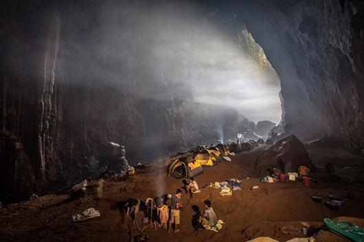 Облака в пещере Шондонг