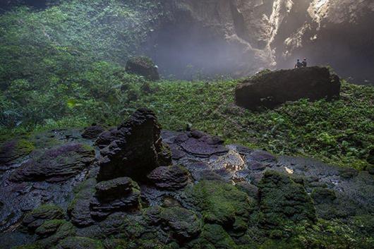 Удивительные пейзажи пещеры Шондонг
