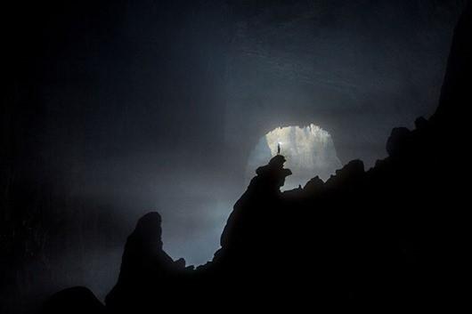 Зловещая темнота в пещере Шондонг, Вьетнам