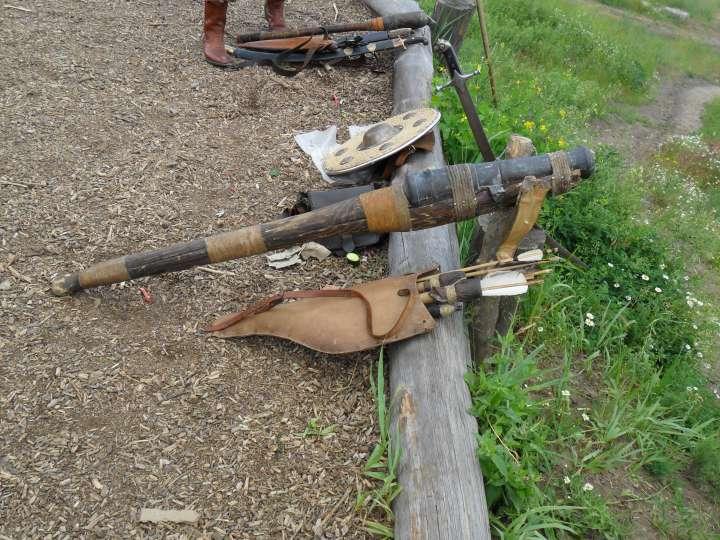 Но не все оружие пылится в арсенале, некоторое еще активно используется.