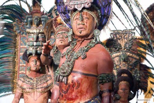 Кровопускание, племя Майя