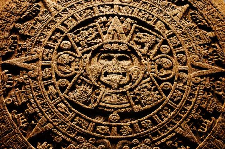 Таинственные символы племени Майя