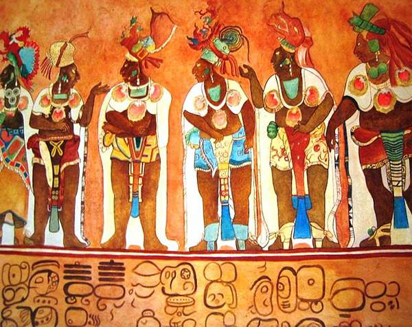 Племя Майя, фото