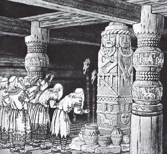 Поклонение богам древних славян