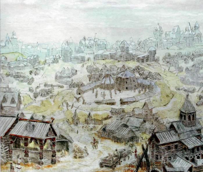 Поселение славянских племен