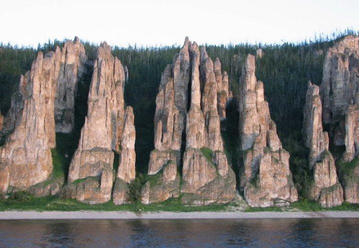 Ленские столбы. Фото