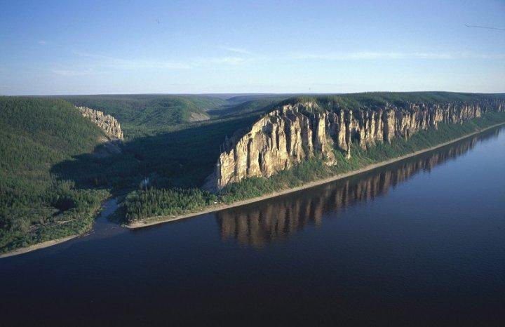Пейзажи парка Ленские столбы