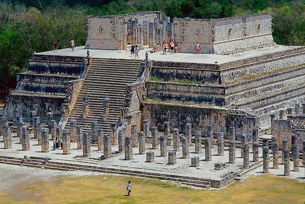 Достопримечательности древнего города Чичен-Ица, Мексика