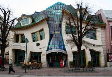 Кривой домик в Сопоте, Польша