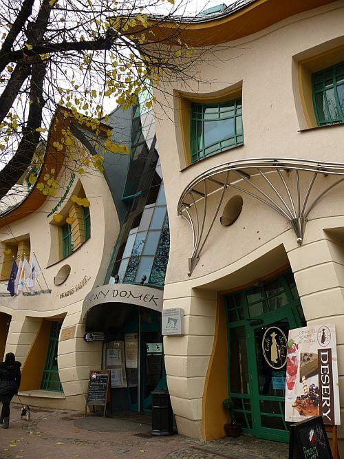 Фасад Кривого домика, Сопот, Польша