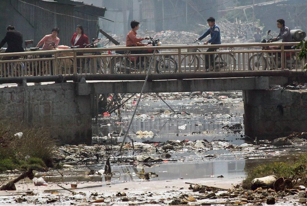 Река Лианжань - самая грязная река в мире