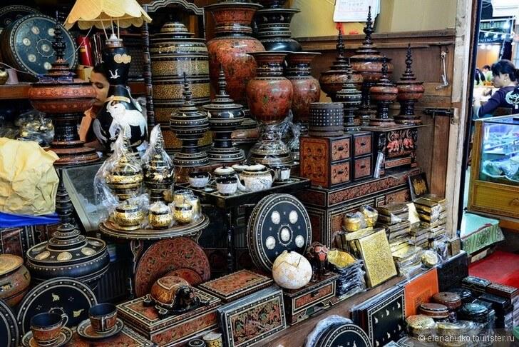 Ремесла в городе Паган