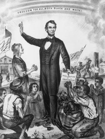 Президент США Авраам Линкольн