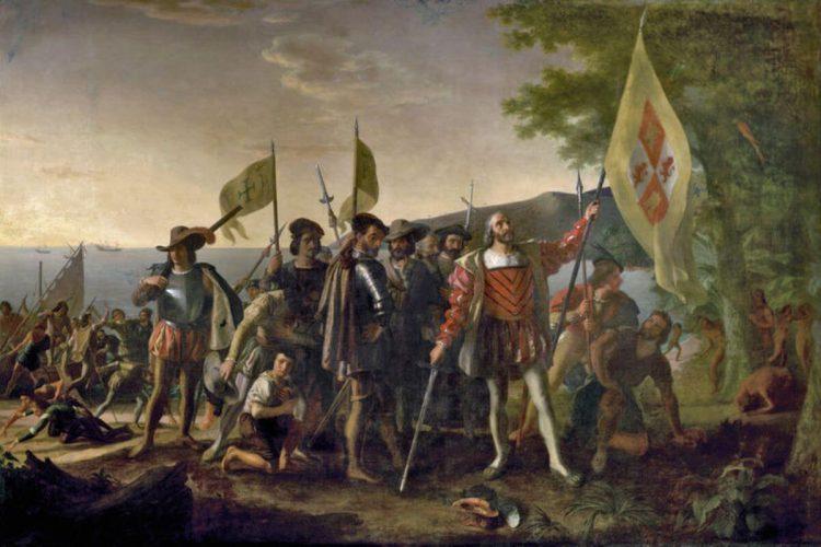 Первые европейцы в США